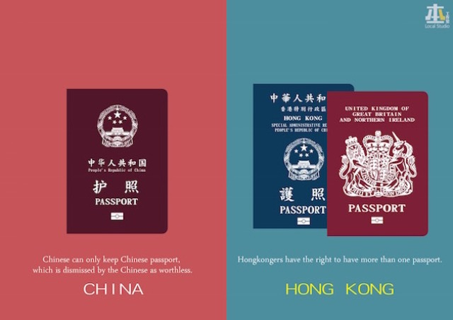 """Hong Kong is not China"" illustrations cause controversy online"
