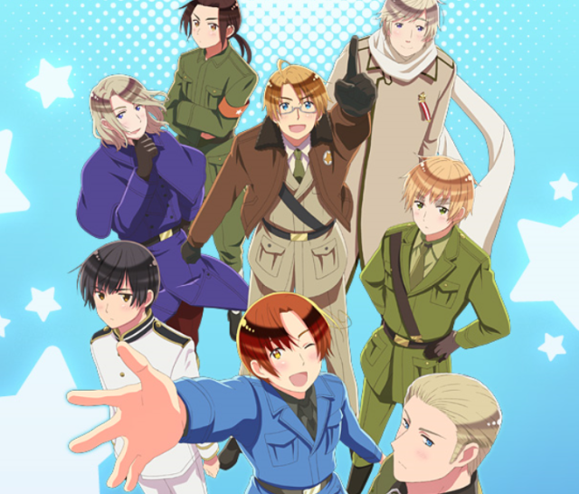 Countries become anime characters, anime characters become real men in Hetalia musical
