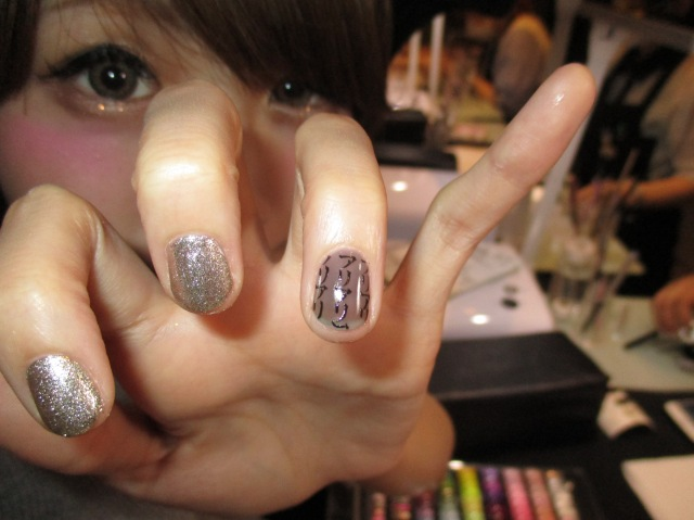 The tale continues at the tip of your fingers! Lovable ita-kyara nail art!