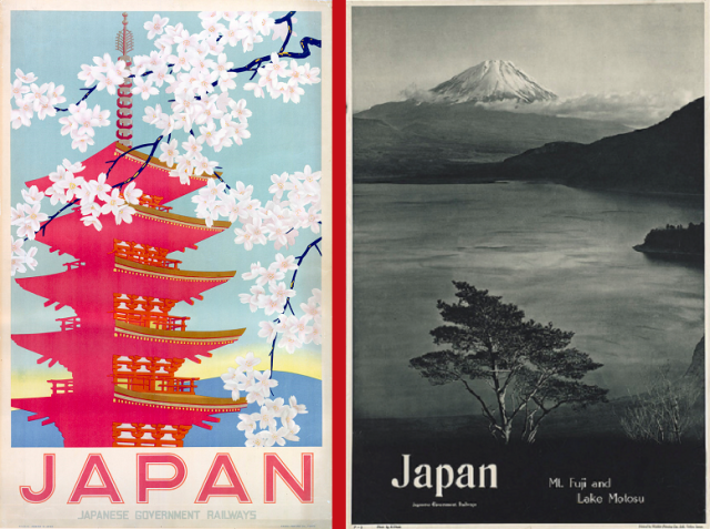 Collection of retro travel posters proves Japan has always been a cool place to visit 【Photos】
