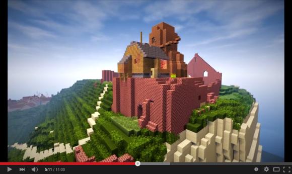 minecraft castle 03