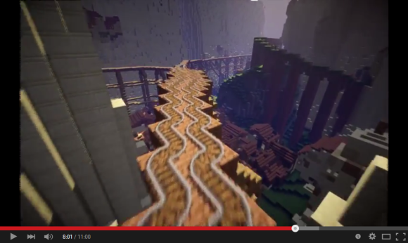 minecraft castle 10