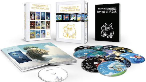 Disney to release 'Collected Works of Hayao Miyazaki' Blu-ray set
