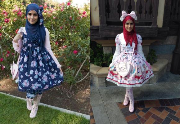 muslim lolita fashion top