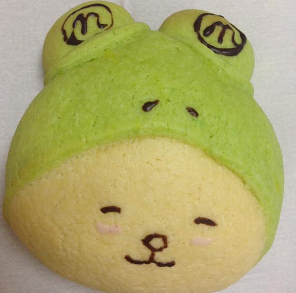 Sweet frog hat-wearing pup is a totally edible yuru-kyara available from one place in Japan only