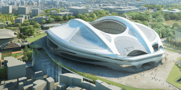Sayonara, stadium! Tokyo tosses out design for 252 billion-yen Olympic site, starts from scratch
