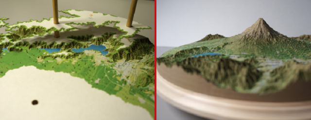 Why just climb Mt. Fuji when you can build it with this awesome paper-stacking kit?