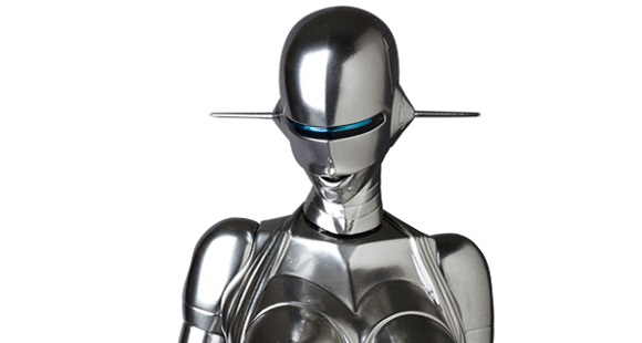 The Sexy Robot from 1983 is back in glorious 3-D form