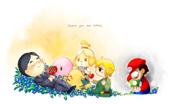 Beautiful, tear-jerking tributes to late Nintendo president Satoru Iwata