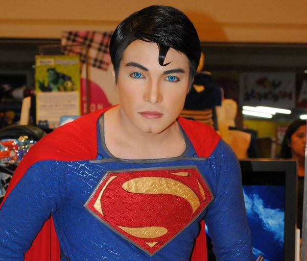 Filipino Superman injects self with controversial ab-fillers, just wants to make kids smile