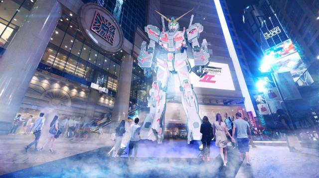 Giant Gundam headed for Hong Kong
