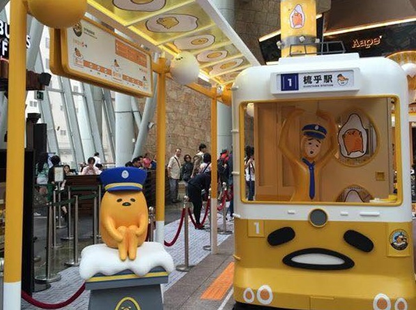 Gudetama stops by Hong Kong with a pop-up store and irresistibly cute displays【Photos】
