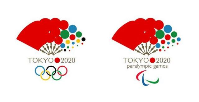 Newly designed folding fan emblem proposed for the 2020 Tokyo Olympics soars in popularity