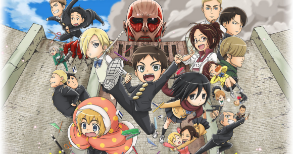 Attack On Titan Junior High Is The Most Confusing Yet Amazing Spinoff We Ve Ever Seen Video Soranews24 Japan News