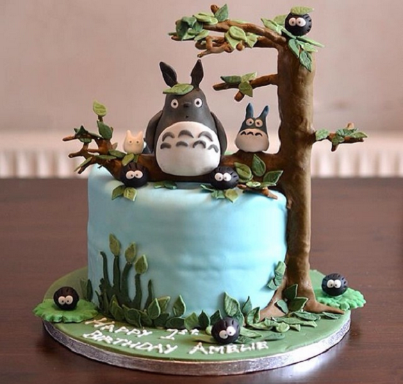 Cakes that bring a giant Totoro-sized smile to any Studio Ghibli fan's face【Photos】