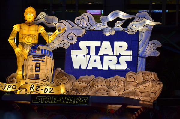 The Force is with the famous Nebuta Festival this year, as Star Wars floats make an appearance