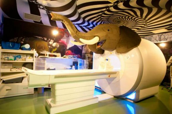 Freaky interior of Japanese hospital appears to be made from the stuff of nightmares