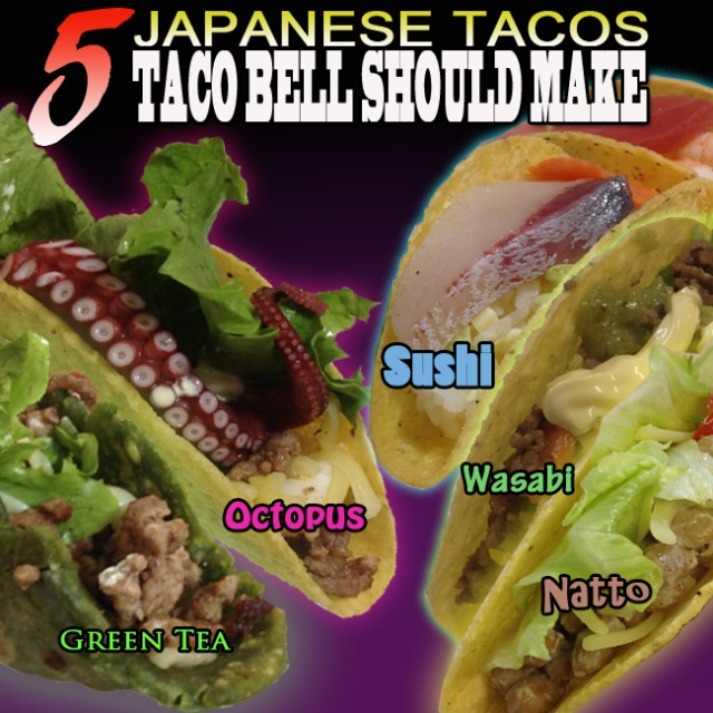 Five Japanese tacos that Taco Bell should have released by now, made and taste-tested【Photos】