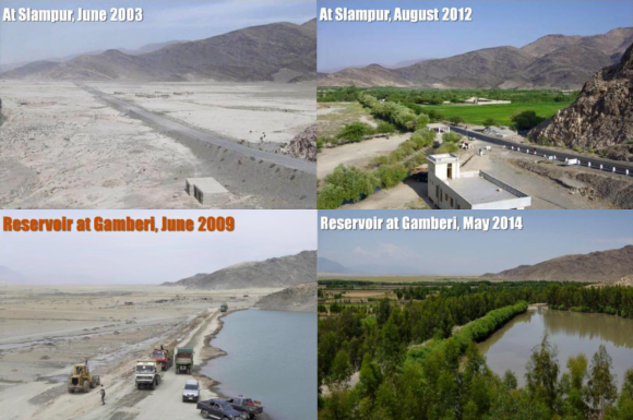 Embassy of Japan in Afghanistan helps transform once arid desert into lush paradise 【Pics】