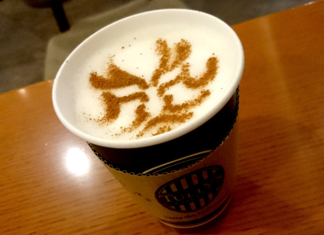 The cafe with a kabuki twist  — we visit Tully's Coffee at the Kabukiza Theater