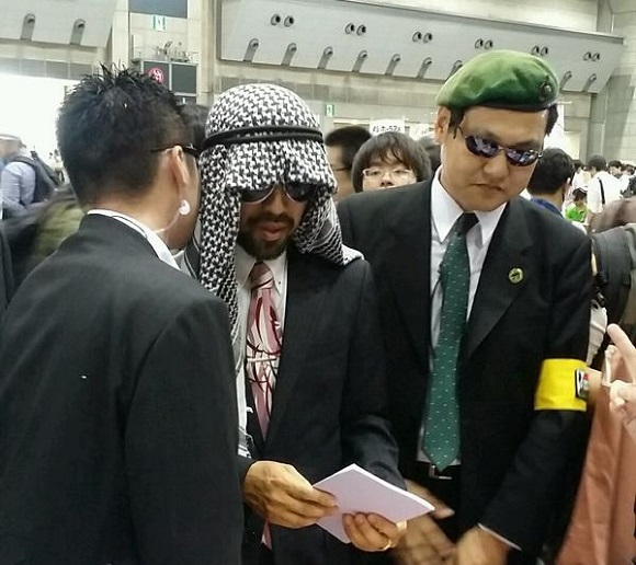 Did a special guest from the Middle East make an appearance at Comiket?【Photos】