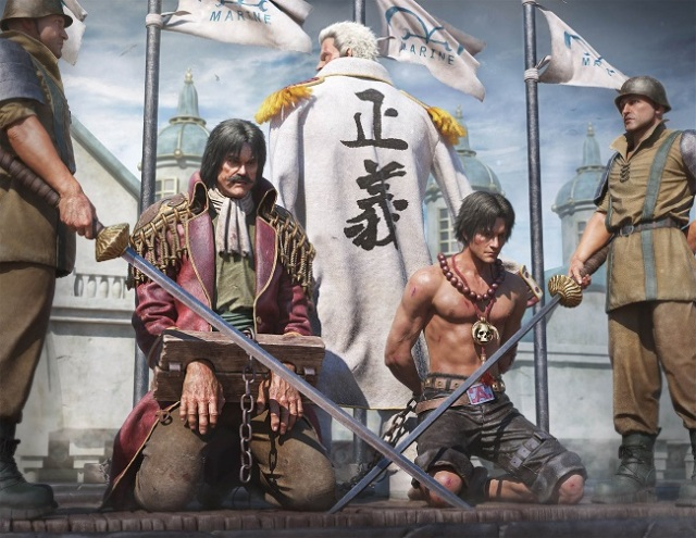 Beautiful 3-D rendered One Piece fan art will have you reaching for the tissues