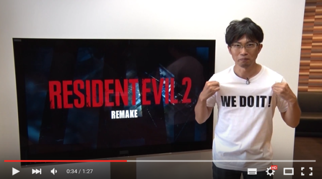 Resident Evil 2 remake officially announced by Capcom 【Video】