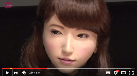 """Say konnichiwa to Erica, the android who can have """"completely natural"""" conversations 【Video】"""