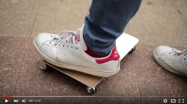 "Japan's obesity rates to rise thanks to new portable ""WalkCar"" anti-walking device 【Video】"