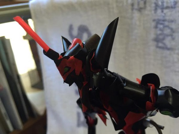You'll never guess what this fan-made Evangelion model is made from!