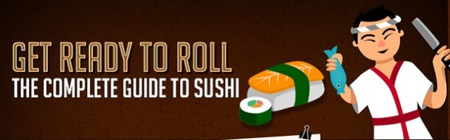 The complete guide to sushi in one handy picture