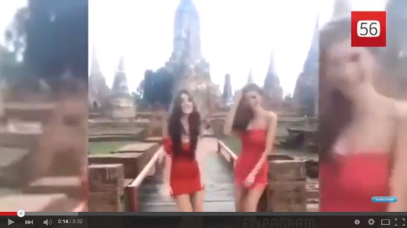 Two Thai models arrested and facing possible charges after dance video goes viral【Video】