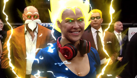 Japanese Internet users react to Super Saiyan MMA fighter Ronda Rousey