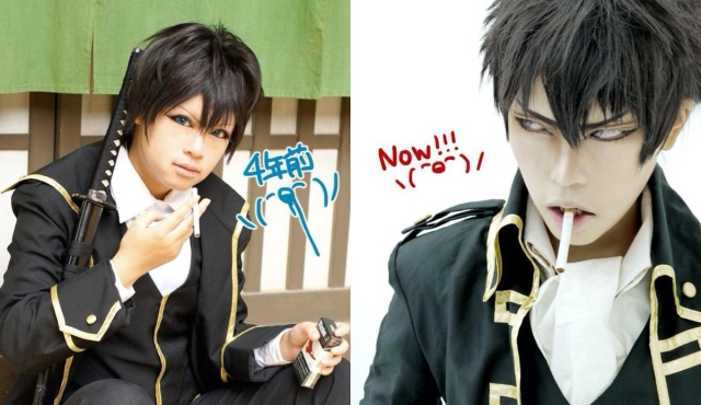 """Japanese cosplayers share their """"then vs now"""" photos, and the difference is eye-opening"""
