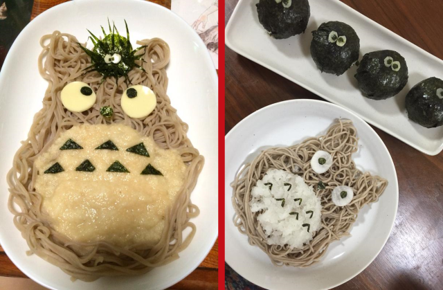 My lunch Totoro – How to turn your noodles into the adorable Ghibli character