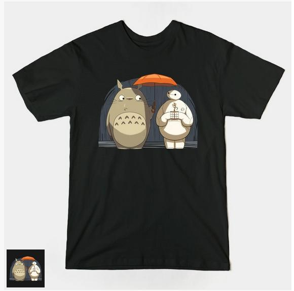 When Totoro met Baymax, and other cool anime crossover T-shirts you can buy