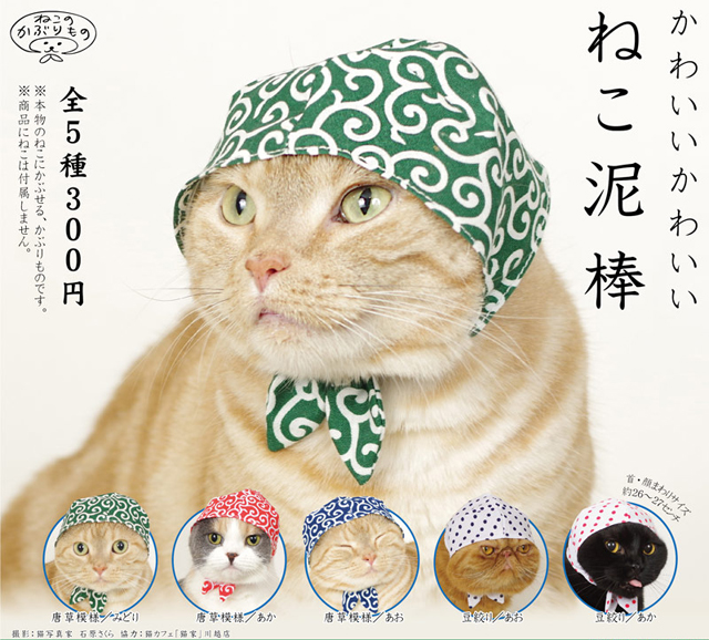 Now you can buy badass bandanas for your cat…from a vending machine