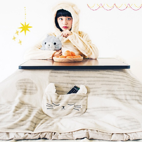 Winter is coming—Get ready with these amazing cat-themed kotatsu covers, cushions, and hoodies!