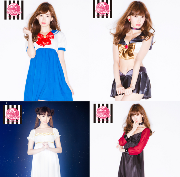 Sailor Moon x Peach John lingerie re-released, available now with 17 outfits to choose from!