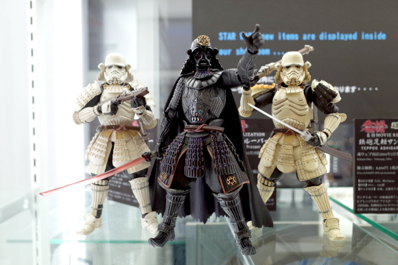 We check out the new Samurai Star Wars figurines from Bandai and Tamashii Nations【Pics】