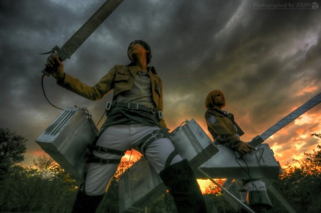 We take a look at 20 of the best, funniest Attack on Titan cosplay photos