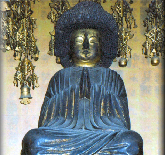 Afro Buddha, usually only displayed one day a year,  gets rare extended viewing until mid-October