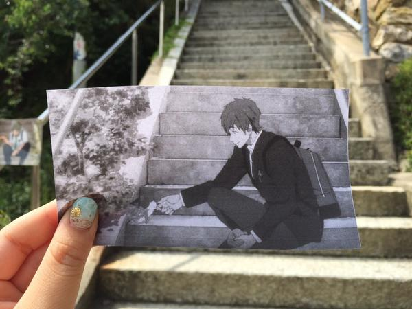 Fan fuses anime and reality in the same frame on tour of real-world Free! locations 【Photos】