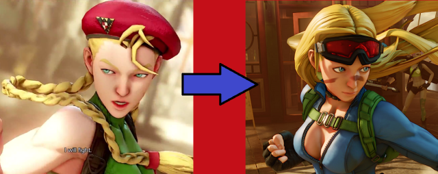 "Did video game developer Capcom just give Street Fighter V's ""shockingly ugly"" Cammy a face-lift?"