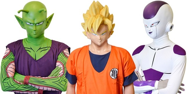 Dragon Ball costumes made easy with new masks of your favorite characters