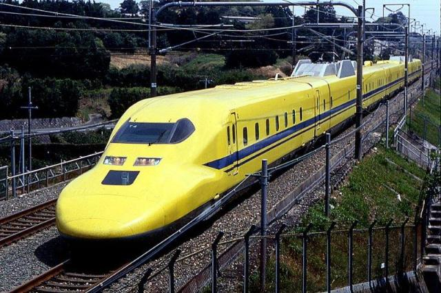 "Now bullet train geeks can ride the rare, top-secret ""Doctor Yellow"" train"