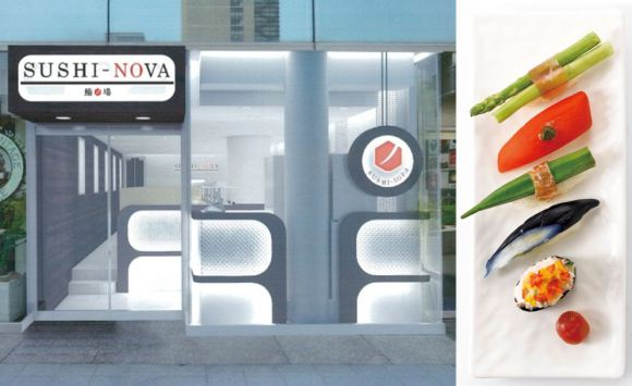 Conveyor belt restaurant chain Kappa Sushi set to offer vegetable sushi at swanky new restaurants