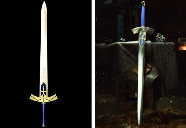 Man At Arms is back, forging the epic Excalibur from Fate/Stay Night【Video】