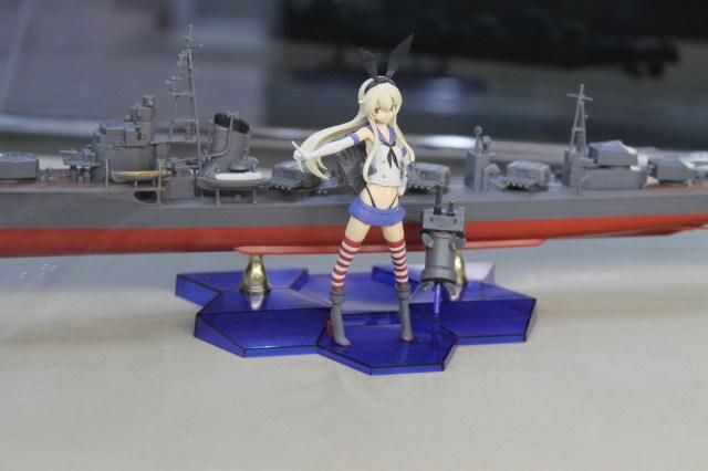 Kankolle booth displays moe battleship girls at TGS 2015【Photos】