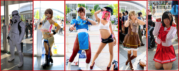 Tokyo Game Show 2015 cosplay photo roundup